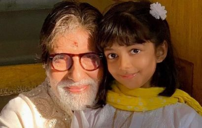 You'll be home soon: Aaradhya Bachchan to Amitabh Bachchan