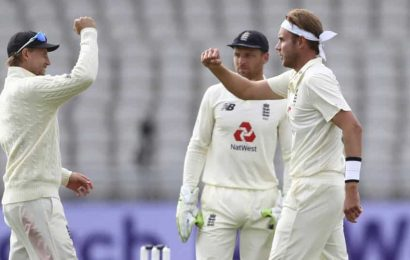 England's two best bowlers of all time: Joe Root's huge praise for James Anderson Stuart Broad