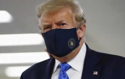 Donald Trump gives in, finally wears mask in public as Covid cases rise globally