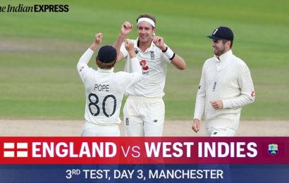 England vs West Indies 3rd Test Day 3 Live Cricket Score Updates: Can Windies avoid follow-on?