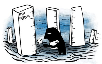 The Mystery of Rising FDI as GDP Slumps
