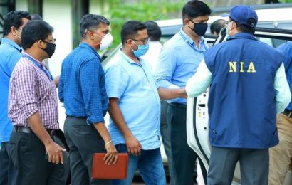 Kerala gold smuggling case: NIA court remands Swapna Suresh, Sandeep Nair to 14-day custody