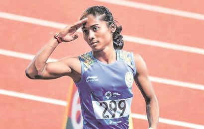 Hima Das dedicates upgraded Asian Games gold medal to corona warriors
