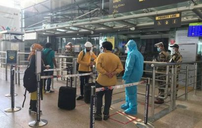 Flight movement at RGIA rises steadily
