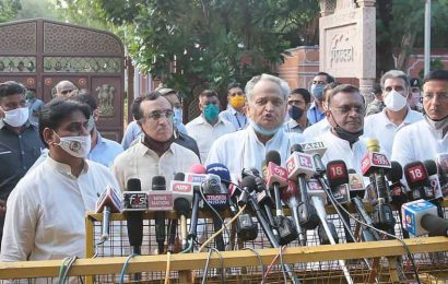 Rajasthan Congress calls off its Monday protest in front of Raj Bhawan