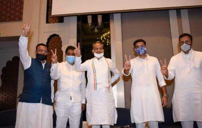 Rajasthan Congress MLAs allege BJP trying to topple Ashok Gehlot govt by 'luring' legislators