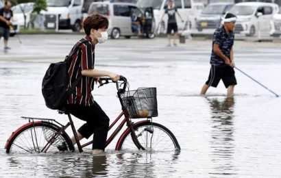 Heavy rain cause deadly floods in Japan, at least 58 dead
