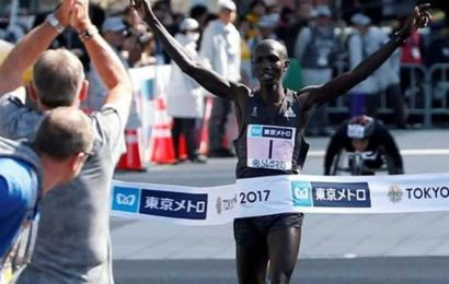Former marathon world record holder banned for four years after giving fake-photo evidence for missed test