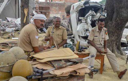 Bunker, 2 kg explosives found in demolished house of Kanpur gangster Vikas Dubey