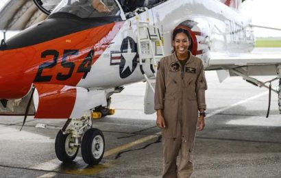 'MAKING HISTORY': US Navy welcomes 1st Black female Tactical Aircraft pilot