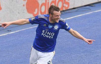 Jamie Vardy wins Premier League's 'Golden Boot'