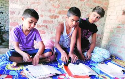 Low on cash, farmers shift to barter system to ensure kids' education