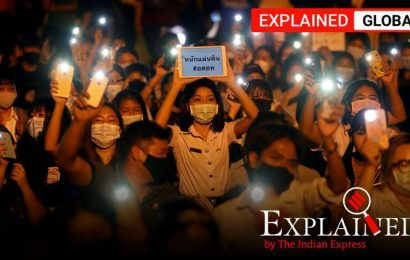 Explained: Why young people are protesting against the government in Thailand, again