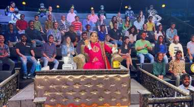 After placing cutouts on set, Kapil Sharma invites audience to be part of show via video call