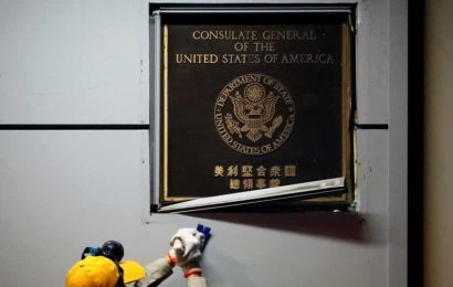 American flag lowered at US consulate in Chengdu: Report