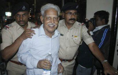 Elgaar parishad case: Varavara Rao shifted to hospital, plea in HC against bail rejection