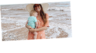 Stacey Solomon urges Brits to do staycations instead of foreign holidays after 'magical' weekend by the sea