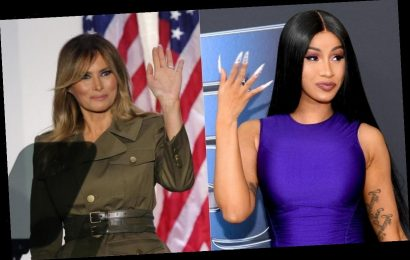 Cardi B's Response To A Troll Comparing Her To Melania Trump Was Iconic
