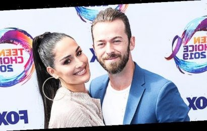 Nikki Bella Reveals She's 'Never Cried' So Many 'Happy Tears' Since Giving Birth To Her 1st Child — See Pic
