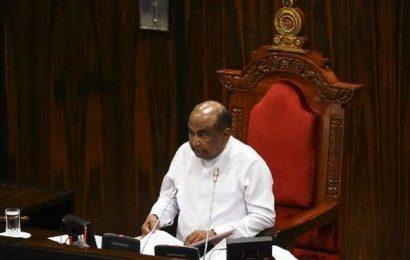 Sri Lanka's new Parliament commences, Mahinda Yapa Abeywardena appointed as Speaker