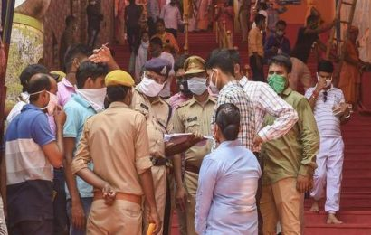 Ayodhya awaits Modi's launch of Ram temple construction