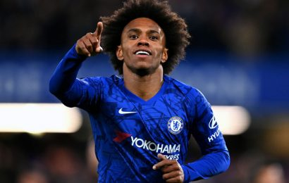 Willian confirms Chelsea exit after seven years