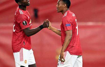 PIX: Manchester United enter Europa League last eight