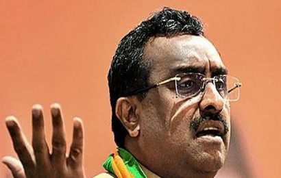 BJP needs to shed junior player tag in A.P., says Ram Madhav