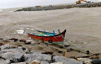 Four fishermen go missingnear Koderi fishing harbour