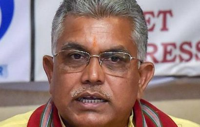 BJP president has asked me to stay away from controversies, says Dilip Ghosh