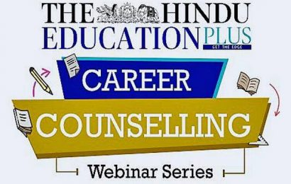Career counselling webinar to be held on August 29