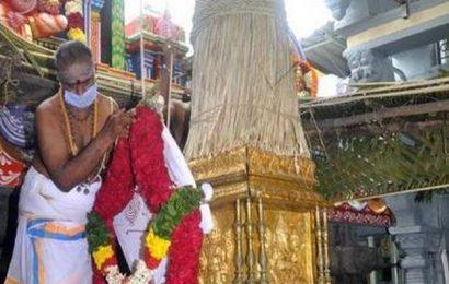 Brahmotsavams at Kanipakam begin on a low-key note