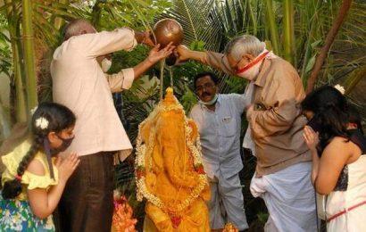 Ongole goes greenon Vinayaka Chavithi