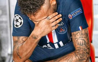 Neymar's message to fans after Champions final loss