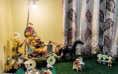 Fascinating Ganesha pix from Charlotte to Ghaziabad