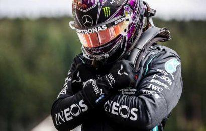 Hamilton dedicates Belgian GP pole to late actor Chadwick Boseman