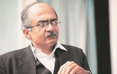Prashant Bhushan refuses to apologise: Regret if misunderstood