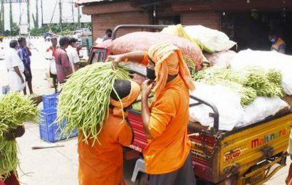 Sakthan vegetable market reopened
