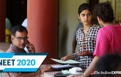 NTA NEET 2020 Admit Card LIVE UPDATES: Entry rules changed due to COVID
