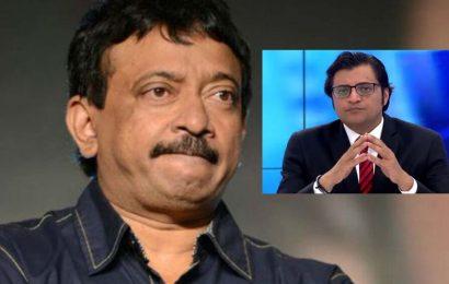 RGV to make a film on Arnab Goswami