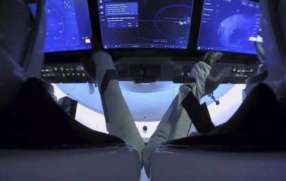SpaceX capsule departs ISS, set for ocean splashdown