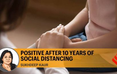 Covid positive after 10 years of social distancing