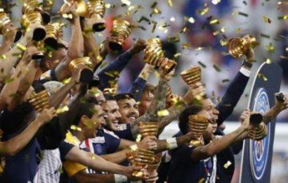 PSG complete domestic treble with League Cup triumph