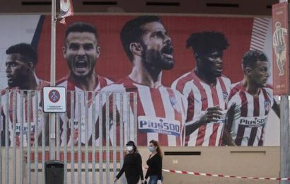 Atletico confirm two COVID-19 positives before Champions League trip