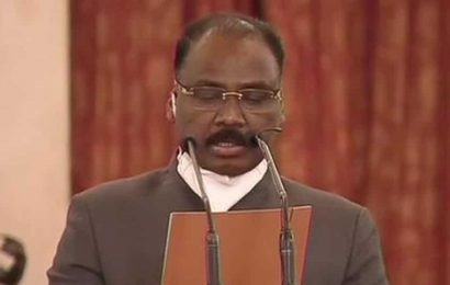 Former J-K lieutenant governor GC Murmu takes oath as comptroller and auditor general