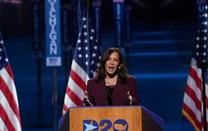 US elections 2020: Kamala Harris nominated as Democratic vice presidential candidate