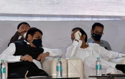 Months after oath-taking ceremony, Fadnavis and Ajit Pawar share dais in Pune