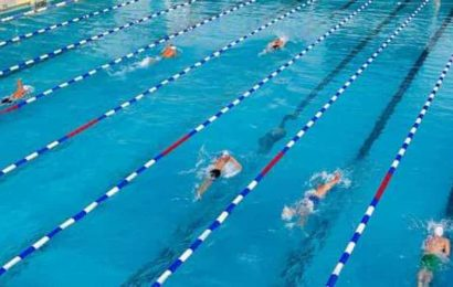Swimming camp starts in Dubai after a day's quarantine