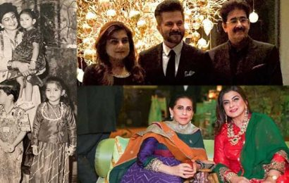 Anil Kapoor shares unseen family photos to wish sister Reena on birthday, asks her to 'cry less and laugh more'