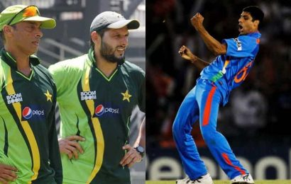 When Shahid Afridi and Shoaib Akhtar came to Ashish Nehra's aid ahead of 2011 World Cup semifinal